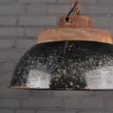 Emaille Fabriekslamp